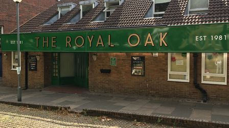 The Royal Oak Pub could lose its licence after a man who'd been assaulted was left unconsious outsid