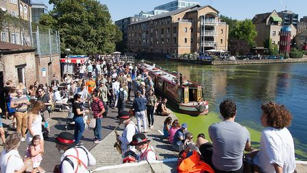 Angel Canal Festival. Picture: Megan Taylor