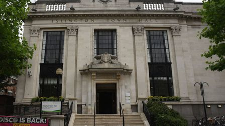 Islington Town Hall. Picture:Ken Mears