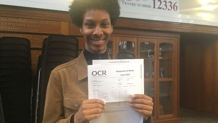 Preston Manor pupil Alsadiq Suliman suprised himself getting AAB at A-level after clutch of c's at G