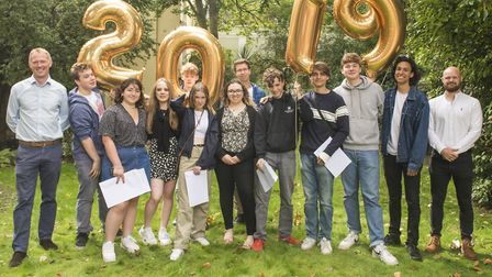 North Bridge House Canonbury students got their A-levels today. Picture: North Bridge House Canonbur