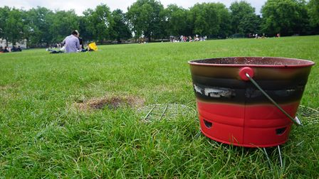 Islington Council has allowed barbecues in Highbury Fields since 2011. Picture: Carline Cheng