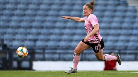 Kim Little in action for Scotland (pic Andrew Milligan/PA)
