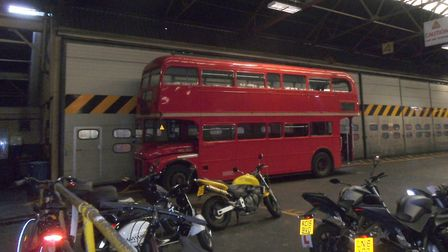 A stock image showing a high-polluting Routemaster vehicle at Holloway Bus Garage. Picture: CC BY 2.
