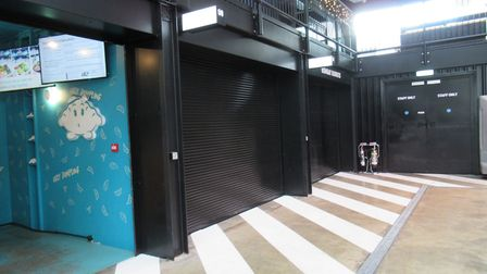 Vacant ground floor units formerly occupied by Wolf and Bombay Burrito. Picture: Archant