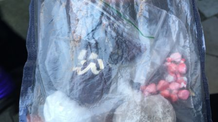 Islington police officers recovered heroin, cocaine, ecstasy and cannabis when they raided a flat on