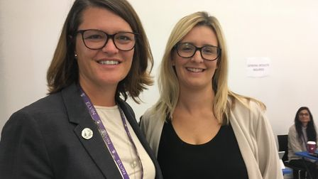 Ark Elvin Academy principal Rebecca Curtis and vice principal Cara Clancy 'delighted' by 'significan