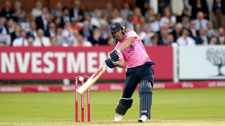AB de Villiers hits out for Middlesex