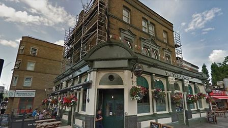 The Twelve Pins in Seven Sisters Road. Picture: Google Maps