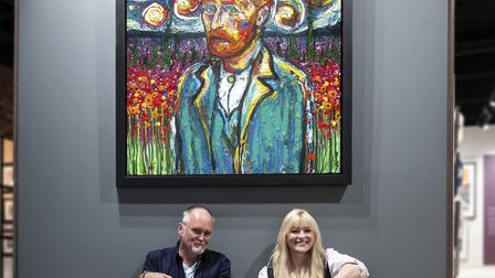 Marc Marot and Scarlett Raven will be talking to people at Cass Art on August 21, 2019. Picture: Ak