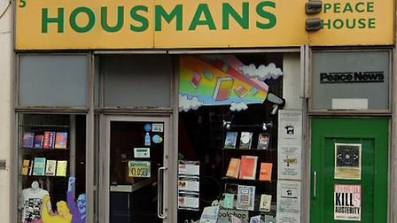 Housemans Bookshop in Caledonian Road was burgled. Picture: Google Maps