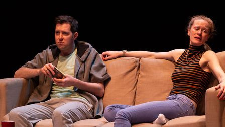 Skin In The Game at Old Red Lion Theatre. Picture: Stephanie Claire Photography.