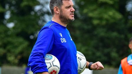 Wealdstone manager Dean Brennan. Picture: Dan Finill | DFinill Photography