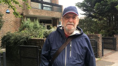 Service user Norman Elvin doesn't want the Drovers Day Centre to close. Picture: Lucas Cumiskey