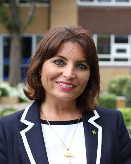 Louise McGowan, head of Jesus and Mary Language College