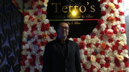Onur Siroren, general manager at Tetto's Italian Kitchen, has responded to 'false information' his b