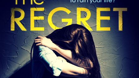 Front cover of Malakin's novel, The Regret, which is out now. Picture: Dan Malakin.