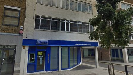 The Met Police's safer neighbourhoods base in Goswell Road is closing. Picture: Google Maps