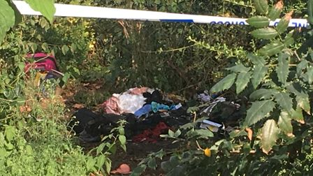 A homeless woman living in Newington Green could have died when her tent was torched today. Picture: