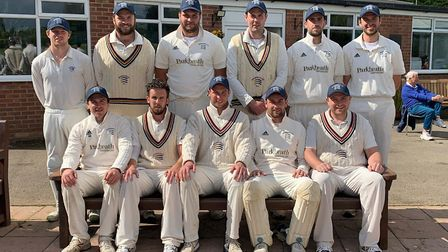 The promotion winning Brondesbury team. Picture: James Overy