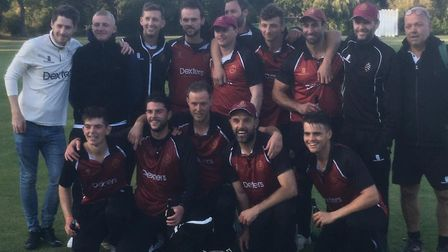The Premier Division title winning North Middlesex side. Picture: Conrad Williams