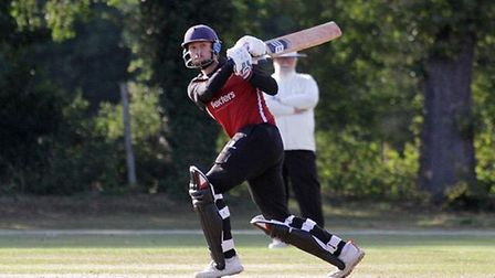 North Middlesex in bat against Harrow St Marys. Picture: Conrad Williams