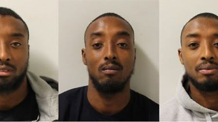 Ralston, Reiss and Ricky Gabriel [L-R]. Picture: Met Police