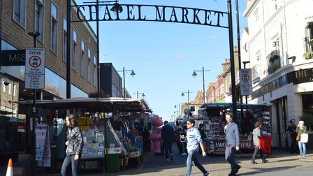 Chapel Market entrance from Liverpool Rd