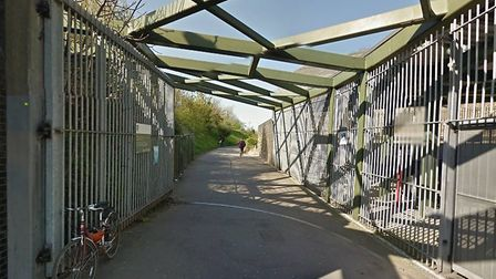 It takes two: The Stroud Green Road gate to Finsbury Park cannot be closed. Picture: Google Maps