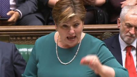 Emily Thornberry MP. Photograph: PA.