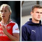 Jordan Nobbs has described Rob Holding as a 'ray of sunshine' during their recovery from knee injuri