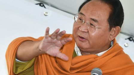 Sogyal Rinpoche pictured in Germany in 2014. Picture: Patrick Pleul/DPA