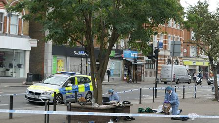 A 16-year-old boy survived being stabbed following a fight in Kilburn High Road. Picture: David Nath