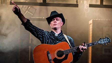 Duncan Wisbey in Midlife Cowboy at The Pleasance. Picture: Adam Trigg.