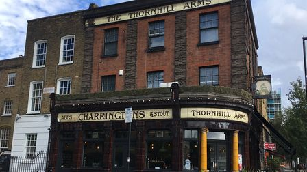 The Thornhill Arms in Caledonian Road will be serving pie and mash from M.Manze from October 12. Pic