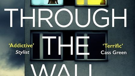 The cover of Caroline Corcoran's debut book, Through The Wall.