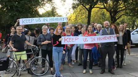 Highbury neighbours don't want six streets to be transferred into Mildmay ward as part of a proposed