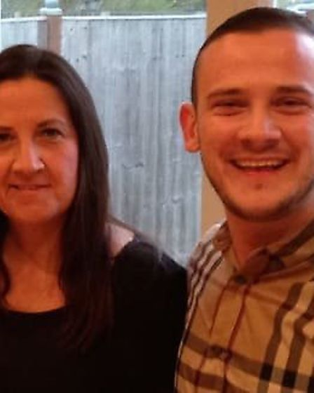 Tracey and Josh Hanson (Picture: Met Police)