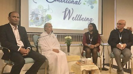 Emotional wellbeing event at Brahma Kumaris in Harlesden. PIcture: Ketan Sheth