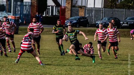 Finsbury Park in action against Finchley (Pic: Remy Magnenat)