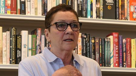 Margaret Bailey, chair of Friends of Kensal Rise Library. PIcture: David Nathan