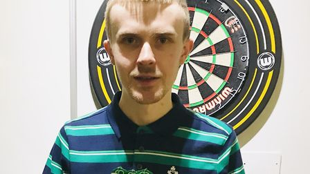 James Martin of N19 in the Archway Darts League: Picture: James Martin