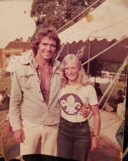 Peter Moring and his wife Jean. Picture: Karl Moring