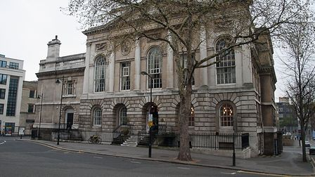 Old Sessions House in Clerkenwell.