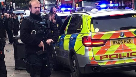 Armed police respond to call claiming a group of children had a firearm, which turned out to be a BB