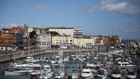 View of Ramsgate marina. Kent. Photo: Getty Images