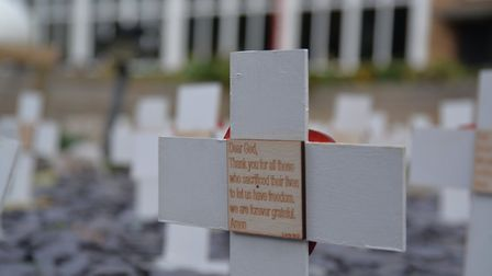 Remembrance Day commemorations at St Gregory Catholic Science College