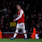 Arsenal's Mesut Ozil during the Carabao Cup, Third Round match at the Emirates Stadium, London. Pict