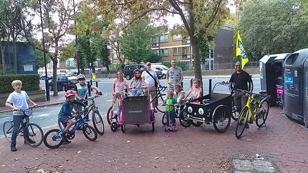 Kidical Mass organised by Brent Cycling Campaign in 2018