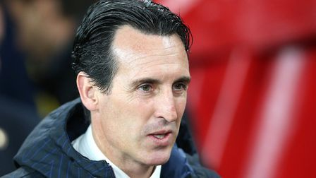 Arsenal manager Unai Emery. Picture: Nigel French/PA
